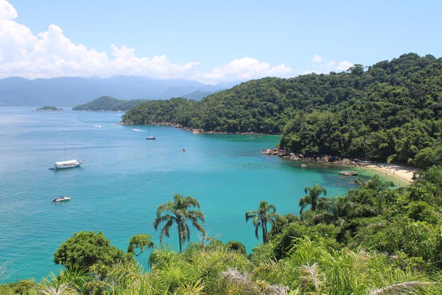 Ilha das Couves, vista do mirante.