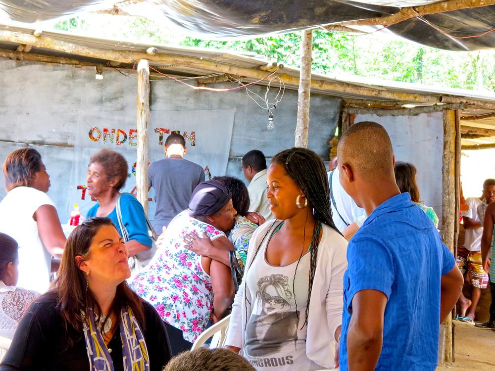 Presarvar é Resistir lançamento da campanha Petrópolis Quiilombo da Tapera