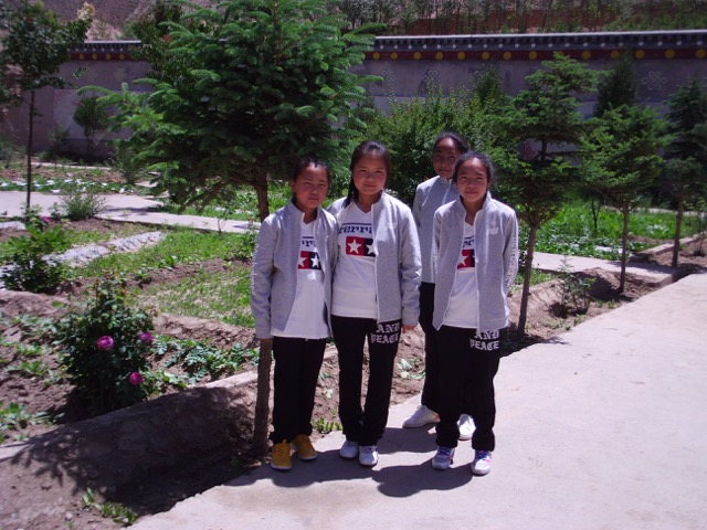 Our beautiful Tibetan girls