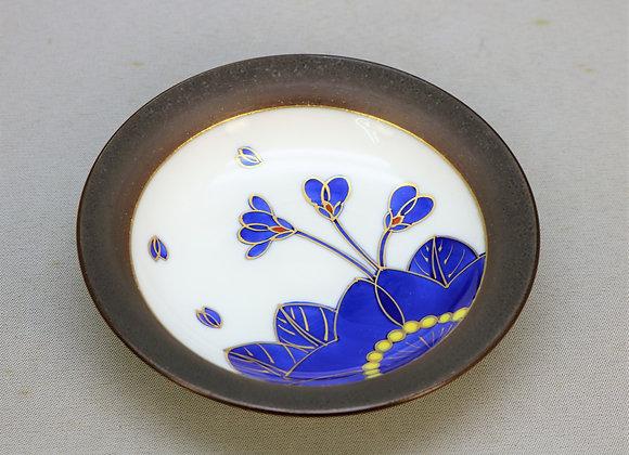 藍桜 銘々皿