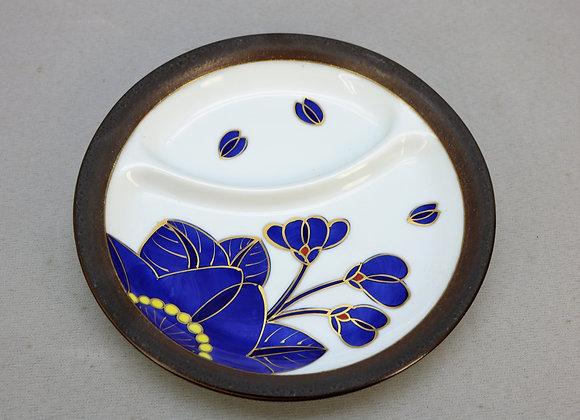 藍桜 仕切り皿