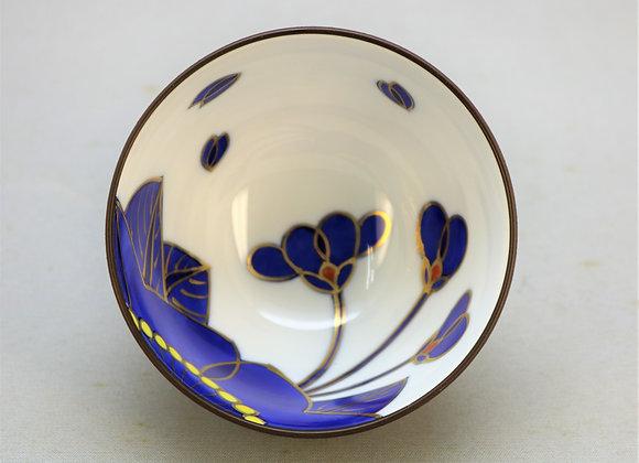 藍桜 深鉢