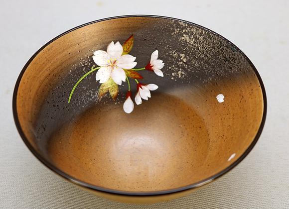焼きしめ桜絵 丼