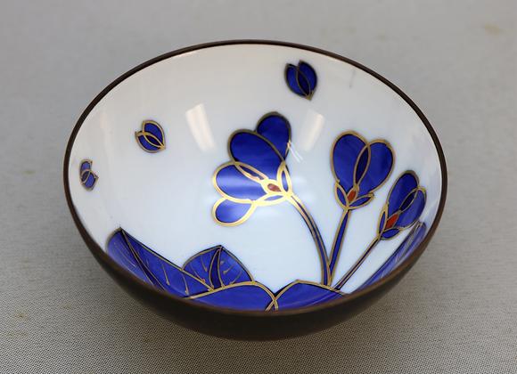 藍桜 飯碗