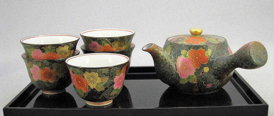 大輪桜 茶器