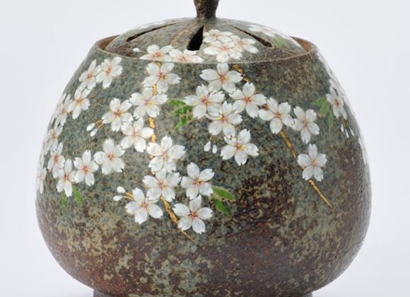 窯変桜 香炉