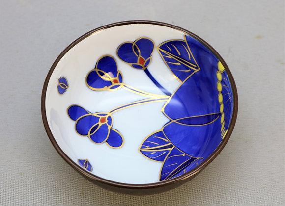 藍桜 小鉢