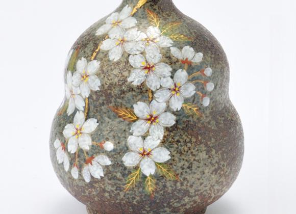 窯変桜 ミニ壺(5)
