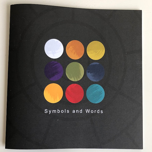 Symbols and Words Collage Booklet