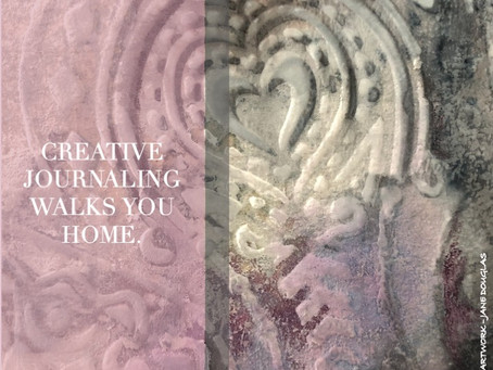 Creative journaling walks you home