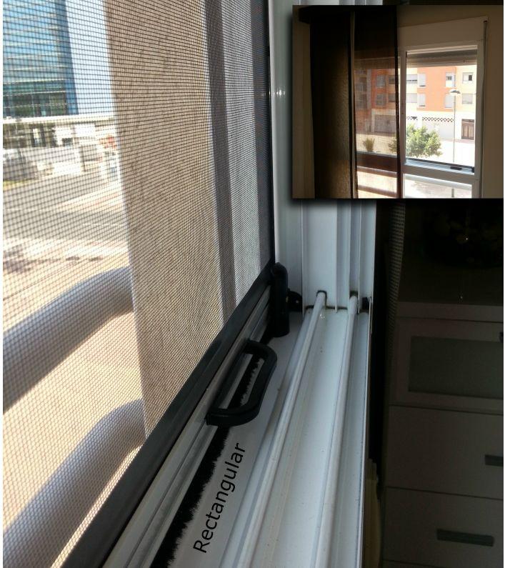Mosquitera ventana con fijo