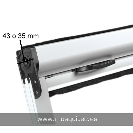Fondo de 43 o 35 mm