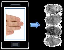 Biométrico de huellas dactilares sin contacto
