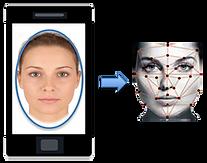 Rostro biométrico sin contacto con vivacidad