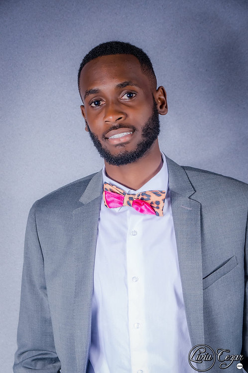 Pink Panther Bow-Tie