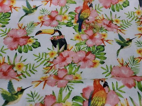 FABRIC MASK CHOICE - BIRDS