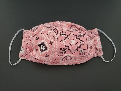 Pink Designer Face Mask