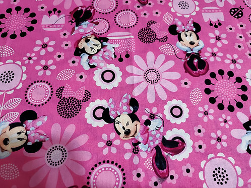FABRIC MASK CHOICE - MINNIE MOUSE
