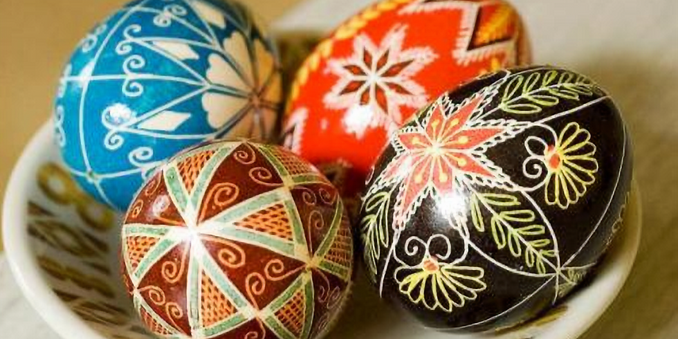 Ukranian Egg Painting   POSTPONED