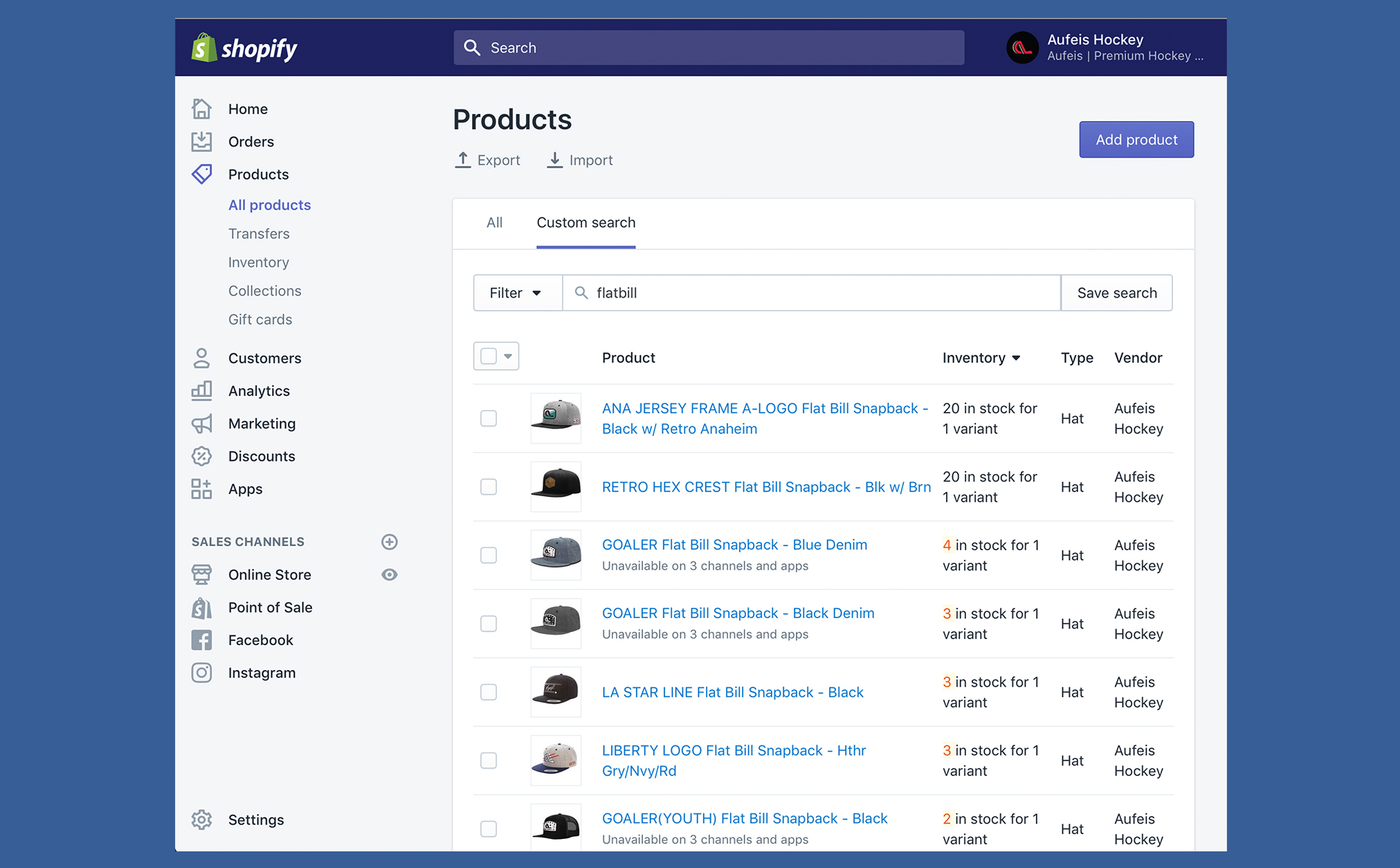 Shopify-Backend