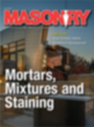 Mortars Mix and Staining
