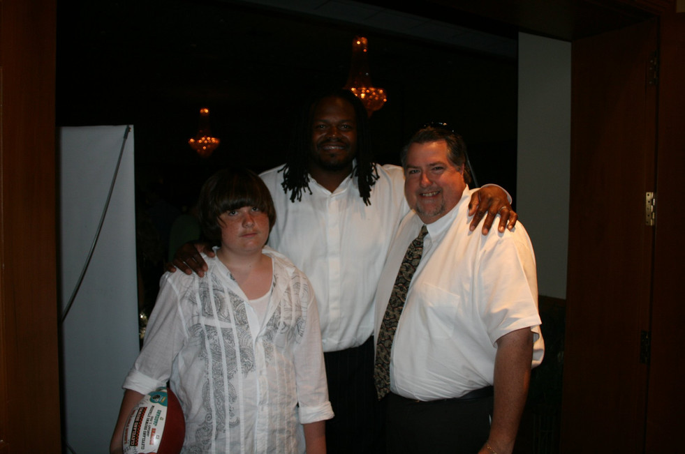 Don at a NFL/Charity Fashion Show