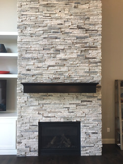 After - Front Fireplace