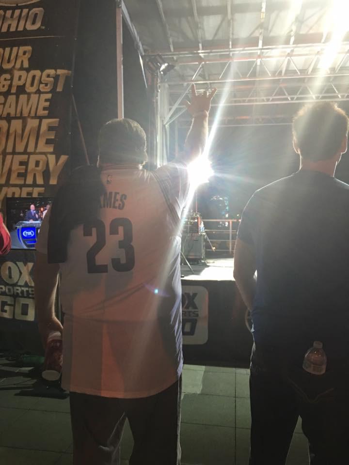 Don attending the 2016 NBA Finals