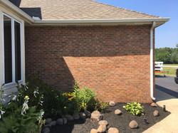 Before - Side of Garage