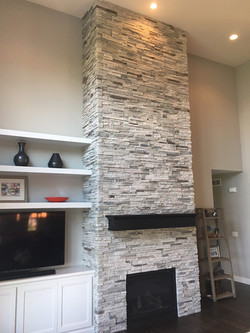 After - Full Fireplace