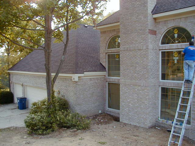 After - Side of House
