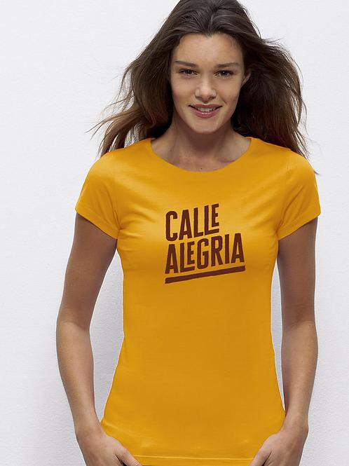 T-shirt Femme jaune