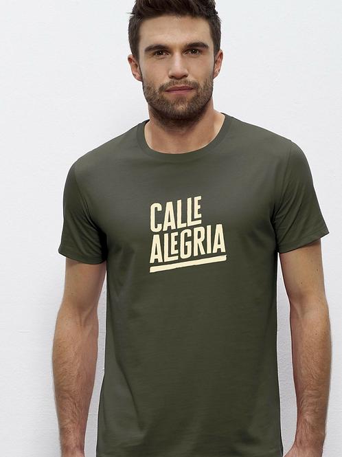 T-shirt Homme kaki