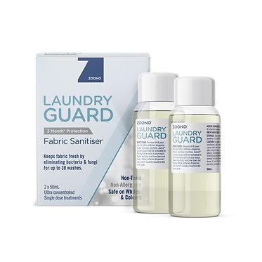 Laundry Guard Fabric Sanitiser   2x50mL Treatments