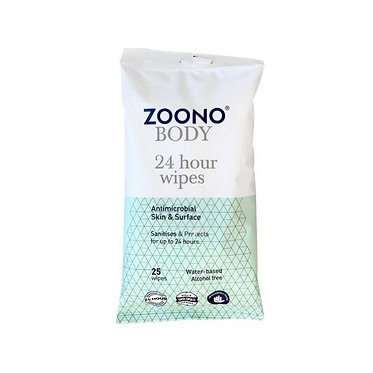 24 Hour Wipes | 25 Wipes