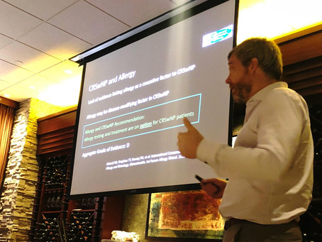 Drs. Dubin and Reh give American Rhinologic Society talk to regional Otolaryngologists