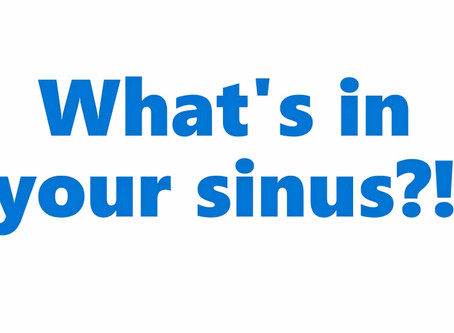 What is in your maxillary sinus?!