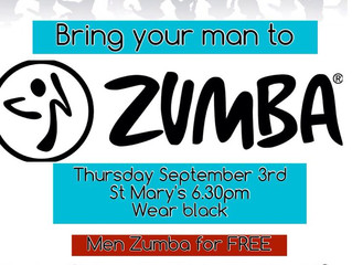 BRING YOUR MAN TO ZUMBA