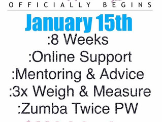 ZUMBA TONING AND HEALTH AND WELLNESS CHALLENGE INFORMATION