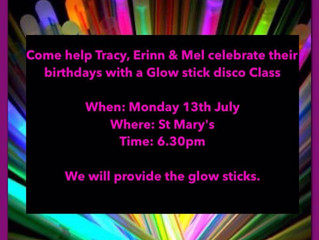 Glow Stick Zumba Party