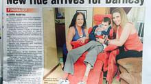 Wheelchair for Barnsy