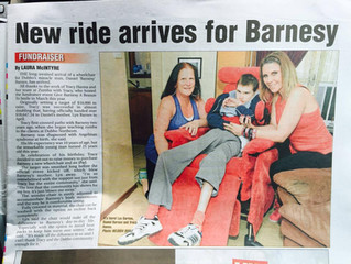 Wheelchair for Barnsy