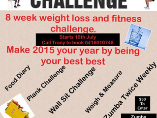 Weight loss Challenge for 2015