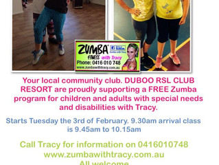 FREE ZUMBA CLASS FOR CLIENTS WITH SPECIAL NEEDS/DISABILITIES
