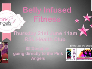 Belly Infused Fitness Fundraiser