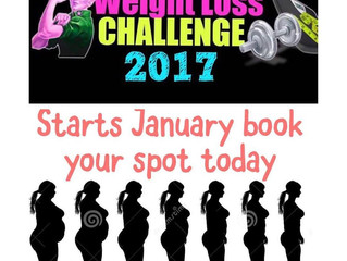 Weight loss challenge 2017