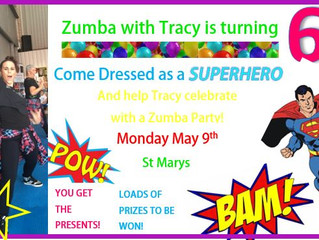 Zumba With Tracy's 6th Birthday!!