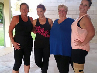 Zumba with Tracy's 2015 Weight Loss Winners!