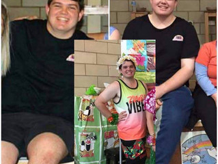 Instructor Trent's Weight loss Journey