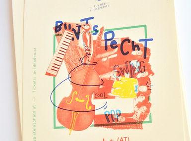 Buntspecht conzert poster